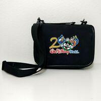 2000 Walt Disney World Collector's Pin Trading Bag w/ Adjustable Strap Mickey