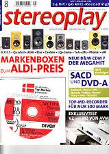 Stereopl .8/00 Hans tedesco Amadeus, MAGNAT ALL RIBBON 12, ARCAM CD 23,b&w CDM 7 NT