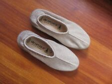 Arcopedico Shoes knitted top flat, size 3/36 beige Light colour Cream