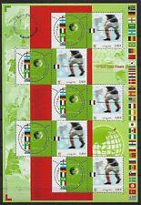 2002 MONDIALI DI CALCIO SHEET FRANCIA EMISSIONE CONGIUNTA ** MNH