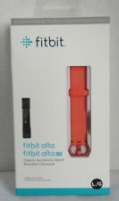 Fitbit Alta and Alta HR Classic Genuine Accessory Band CORAL NEW Large