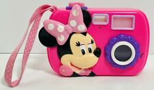 "Disney MINNIE MOUSE ""Just Say Cheese"" PLAY Talking Camera TESTED/WORKS"