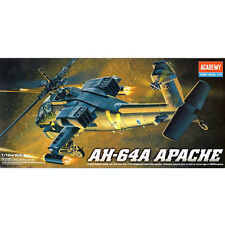 Academy 1/72 AH-64A APACHE  Plastic Model Kit Airplanes #12488