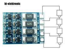 LiFePO4 Akku 60mA Balancer Modul für 1S 2S 3S 4S / 3,2V 6,4V 9,6V 12,8V