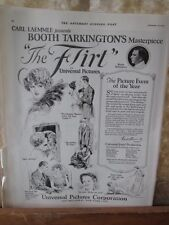 Vintage Print,UNIVERSAL PICTURES,Jan 1923,Saturday Evening Post
