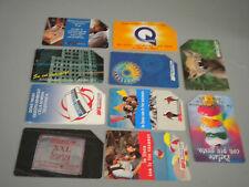 Lotto 10 schede telefoniche Telecom tutte diverse usate