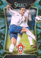 2015 Panini Select Soccer Base Common Camo Parallel Numbered to /249 - (1-50)