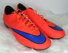 NIKE Mercurial Vapor X Firm Ground Cleats 648553-650 Soccer Shoes Sz US 12 EUC