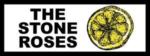 Stone Roses Retro 80s 90s Car Sticker 20cm x 8cm