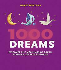 1000 Dreams – David Fontana paperback book - new