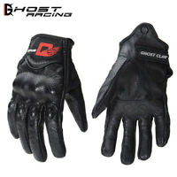 Motorcycle Gloves Motocross Off Road Touch Screen Mens Leather Anti-Slip Mitts