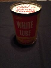 White Lube Sta Lube All Purpose Lithium Grease Siloo New Can. 1 Lb Can .445 Kilo
