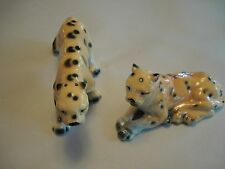 Vintage Leopard S & P Shakers, RELCO Creation, Hand-painted, Japan