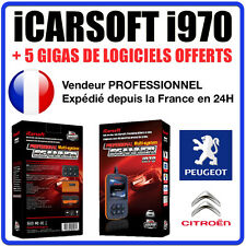 Valise Diagnostique PEUGEOT et CITROEN - iCarSOFT I970 PSA DIAGBOX PP2000