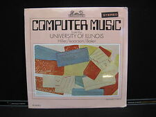 COMPUTER MUSIC FROM THE UNIVERSITY OF ILLINOIS HELIODOR HS 25053 SEALED RECORD