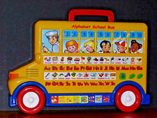 Yellow Alphabet School Bus - Great Interactive Learning Tool for Young Children!