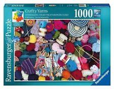 19515 Ravensburger Perplexing Crafty Yarns 1000pc Adult Jigsaw Puzzle