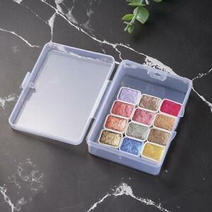 Metallic Glitter Art Supplies For Artists Watercolor Paint Set Gift