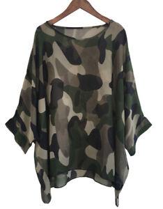 Plus Size 16-22 Ladies Sheer Chiffon Kaftan Tunic Tops Irregular Kimono Blouse