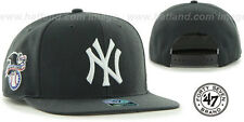 Yankees 'SURE-SHOT SNAPBACK' Charcoal Hats by 47 Brand