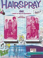 """Affiche 120 x 160 du film """"HAIRSPRAY . 1962"""" de John Waters ."""