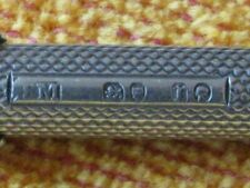 More details for sampson mordan london 1872, combin propelling dip pen / pencil sterling silver.