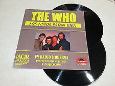 THE WHO - THE KIDS ARE ALRIGHT / My Generation Rare Promo 2 x LP MEXICO Polydor