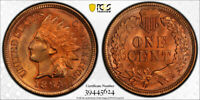 1894 1C Indian Head Cent PCGS MS 64+ RD Full Red Better Date Secure Holder