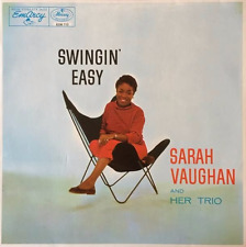 SARAH VAUGHAN AND HER TRIO - Swingin' Easy (LP) (NM/VG++)