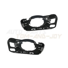 Pair Fog Driving Light Lamp Grille Molding Trim For MERCEDES-BENZ C-CLASS 08-11