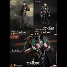 -=] HOT TOYS - Thor: The Dark World Loki Movie Masterpiece [=-