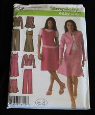 2 Simplicity Plus Size Women's Clothing Sewing Patterns Sizes 20W to 28W