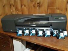Hp Designjet 800 24 Large Format Plotter With Ink Cartridge Amp Printheads