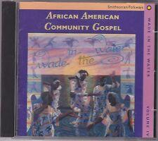 WADE IN THE WATER, VOL. 4:AFRICAN AMERICAN COMMUNITY GOSPEL.SMITHSONIAN FOLKWAYS