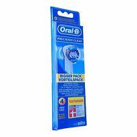 4 Braun Oral B Precision Clean Aufsteckbürsten Original OralB Ersatz Bürsten