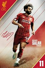 Liverpool FC Mo Salah OFFICIAL Club Poster Champions 2019/2020