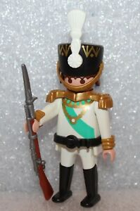 """Playmobil Red Coats """" Soldier White """" Guard Soldiers Briten Navy Husar"""