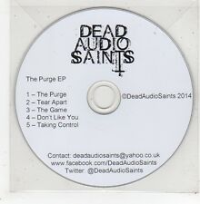(GE4) Dead Audio Saints, The Purge EP - 2014 DJ CD