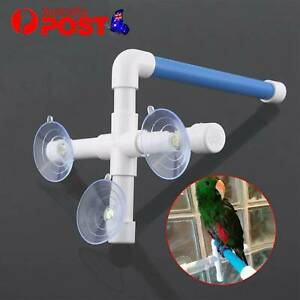 OZ Toy Rack Stand Play Stands Parrot Bird Perch Shower Bath Platform