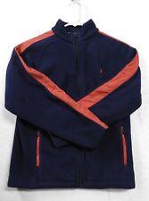 POLO Ralph Lauren - Polar Fleece - Long Sleeve - Full Zip - Navy - M 10-12 - EUC