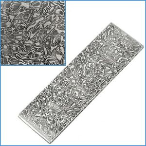 Star VG10 Forged Stainless Steel Clad Damascus Billet Bar 100 x 30 x 2.5