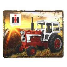 "International Harvester Ih 1066 Tractor with Sunset Tin Sign (14""x11"")"