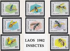 VIETNAM N°315/322** Insectes 1982, Vietnam #1172-1179  Bees & Wasps MNH