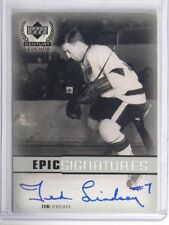 99-00 Upper Deck Century legends Epic Signatures Ted Lindsay auto autograph *338