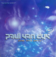 "12"" Maxi paul van Dyk – pump this party/pumpin' , mint-top, cleaned, MFS"
