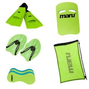 NEW Maru Advanced Junior Swimming Equipment Pack - Four Training Aids Bundle