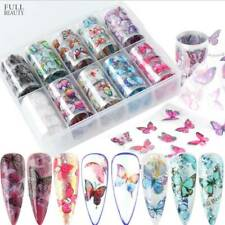 3D Flower Tips Nail Art Transfer Stickers Decals Manicure Decorations DIY .M