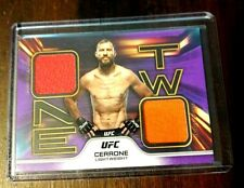 Donald Cerrone Purple One Two 20 Of 25, 2020 Topps UFC Knockout