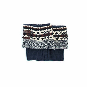 Muk Luks Boot Toppers Sapphire Lodge NEW