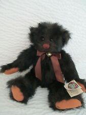 """Ganz Cottage Collectibles Buster Brown Bear Artist Lorraine Chien 15"""" 1996 Nwt"""